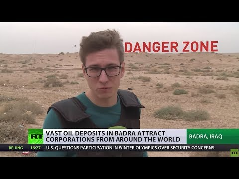 Digging For Black Gold: Vast oil deposits in Iraq attract corporations from around the globe
