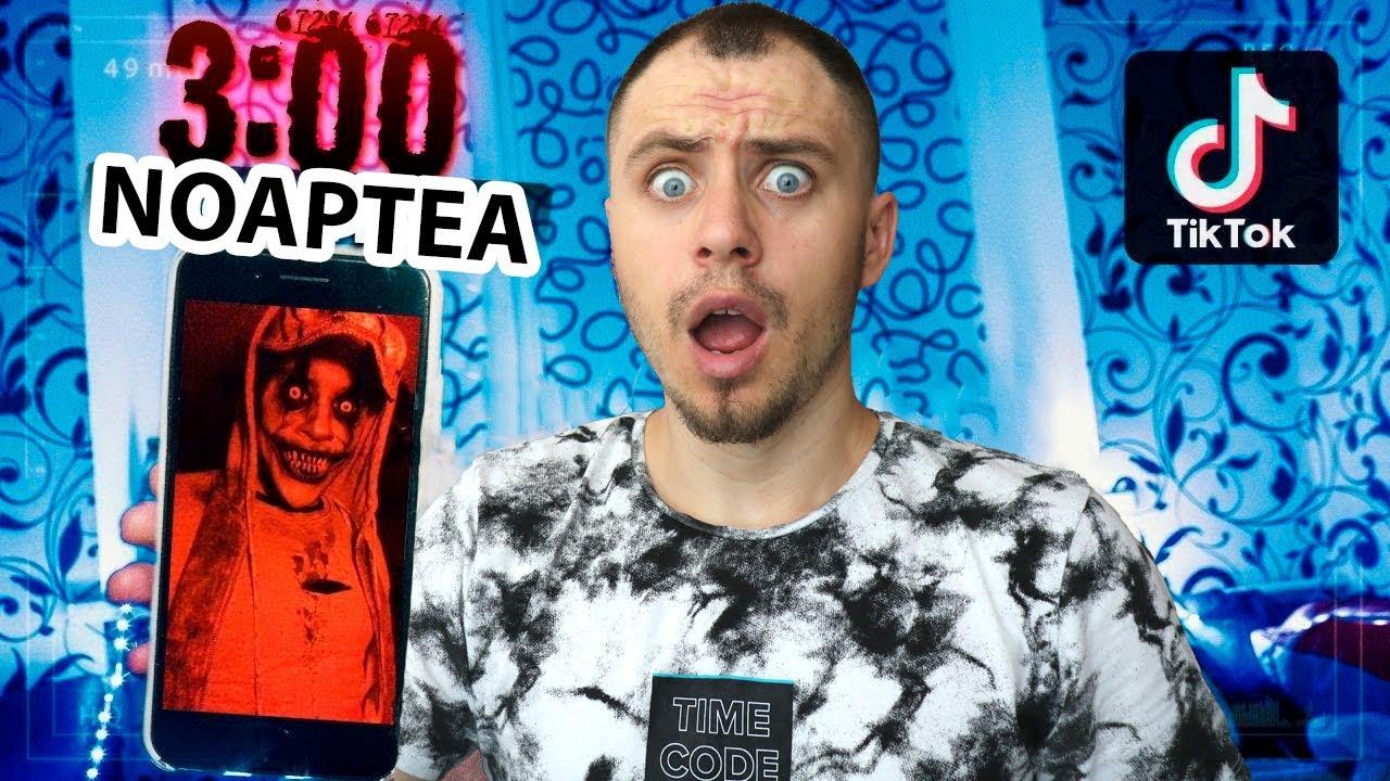 NICIODATĂ NU INTRA PE TIK TOK LA 3:00 DE NOAPTE! (Tomy Show)