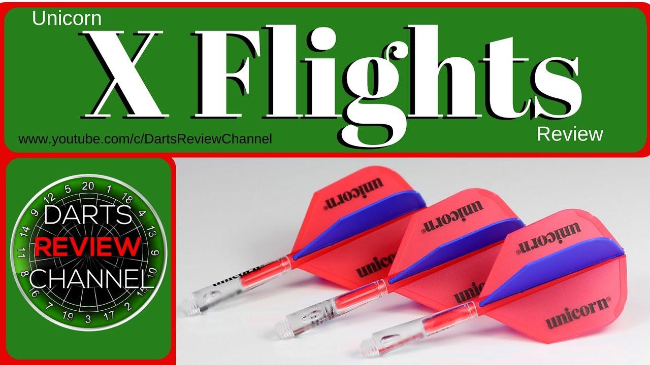 Unicorn X Flight Dart Stem and Flight System New for 2016