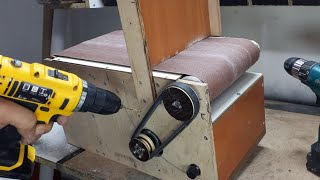 20x41cm Belt Sander Build (Part 2) - Bant zımpara yapımı (Bölüm 2)