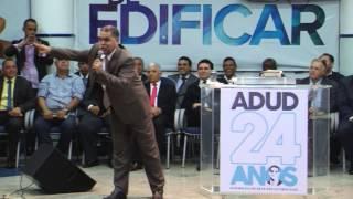 Pr. Marcos Pereira pregando na ADUD 29-12-2014