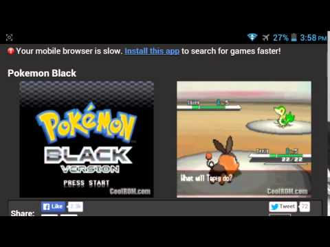 How To Play NDS ROM's On Android Full Speed