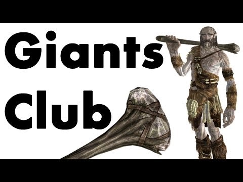 Skyrim Remastered: Best Strongest Weapon In the Game (GIANTS CLUB LOCATION Special Edition Guide)