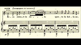 Fernando de Lucia - Ecco ridente in cielo (1908) - Mezza Voce...