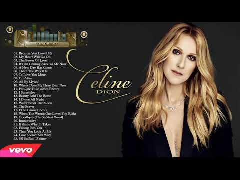 Best 90's - Celine Dion / Greatest Hits Full Album  | 90's Romantic Luv Songs