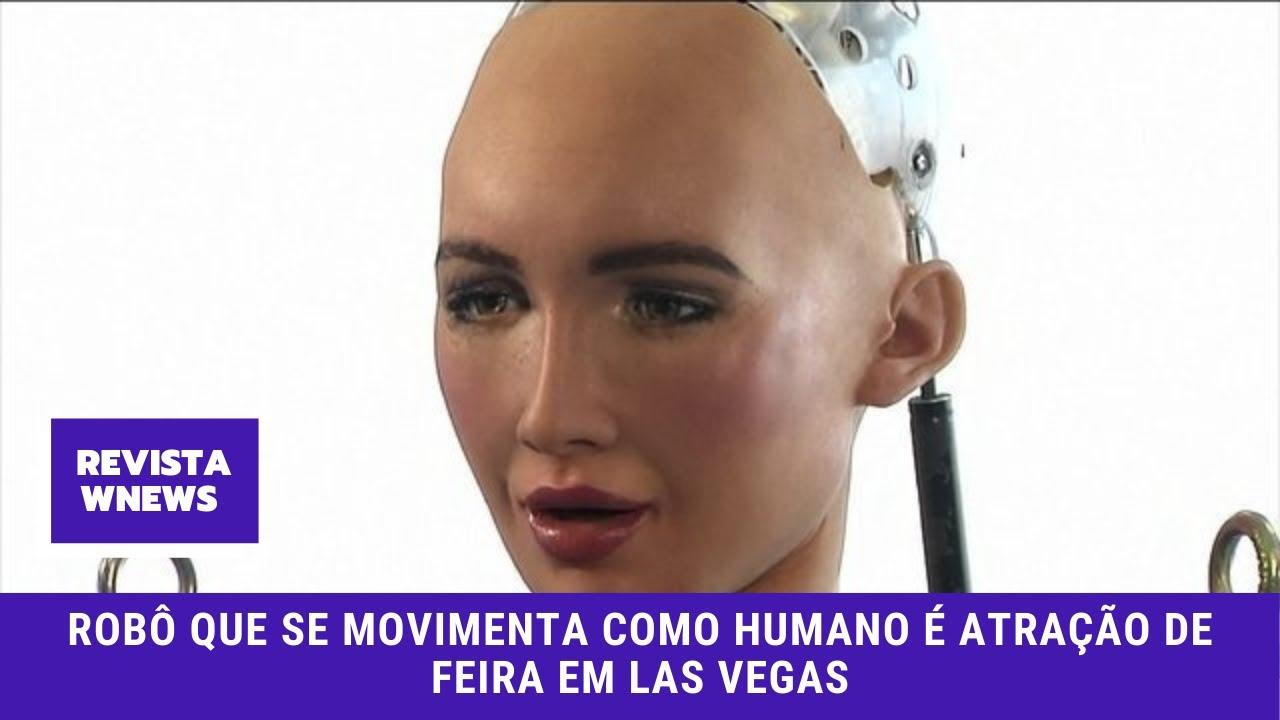 Robô Sophia ganha pernas com movimentos humanos e é destaque da CES 2018