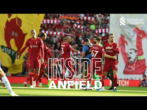 Inside Anfield: Liverpool 1-1 Chelsea |  Salah scores a penalty in an incredible environment