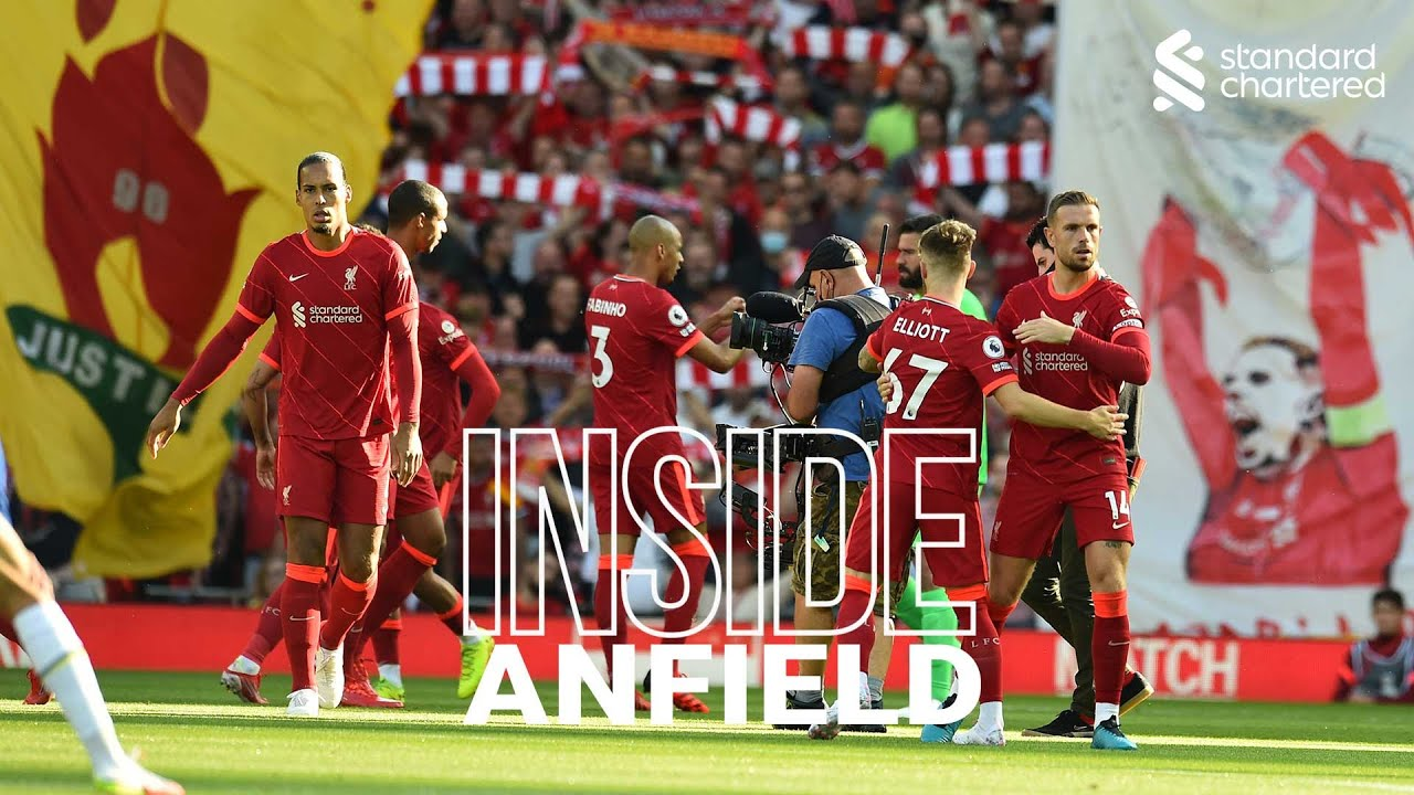 Download Inside Anfield: Liverpool 1-1 Chelsea   Salah nets a penalty in incredible atmosphere