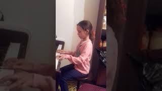 Мелодия Титаника на фортепиано