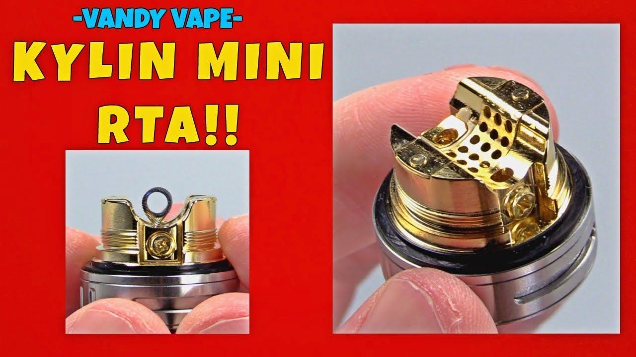 Kylin Mini RTA! Better Than The Pharaoh Mini RTA?!