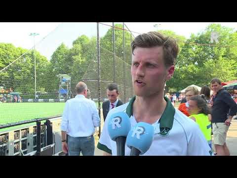 Hidde Turkstra teleurgesteld na Bloemendaal-HC Rotterdam (6-0): 'Op meerdere fronten afgetroefd'