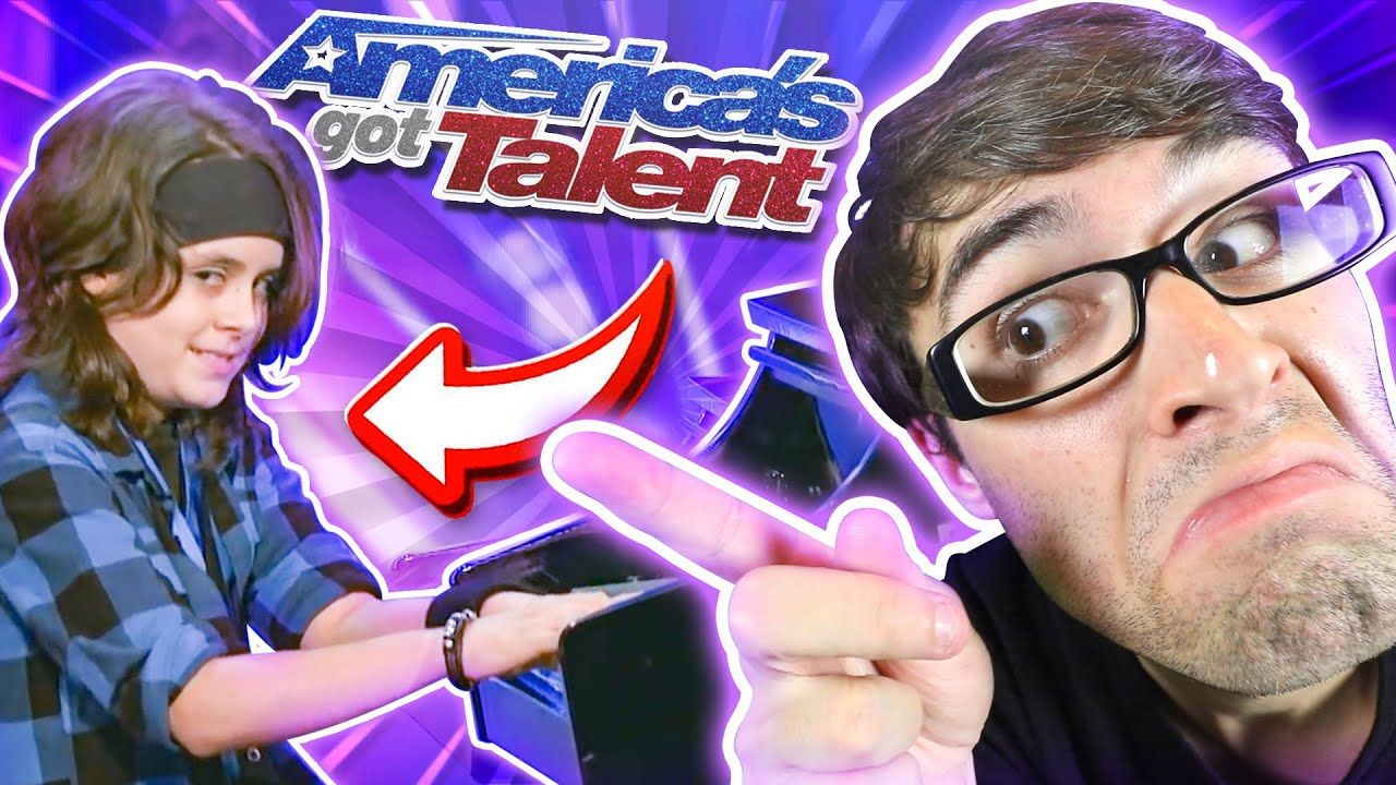 Kid on America's Got Talent Covered MY Song!