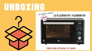 LG 32 L Convection Microwave Oven (MJ3286BFUM) | Unboxing & Demo | LG All in one Charcoal Microwave