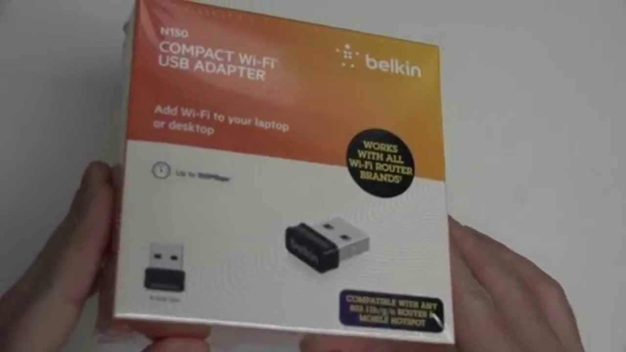 BELKIN WIRELESS ADAPTER N150 WINDOWS 10 DRIVER