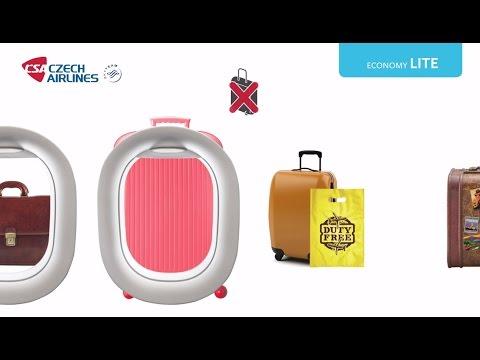 Нормы провоза ручной клади на рейсах авиакомпании Czech Airlines