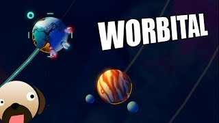 Interplanetary Planet Wars Real Time Strategy Game - Worbital Gameplay