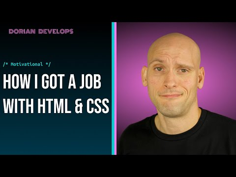 Is HTML & CSS Really Enough To Get A Job As A Web Developer?