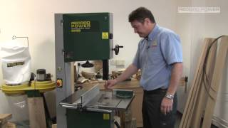 "An Overview And Demonstration Of Record Power's Bs400 Premium 16"" Bandsaw"