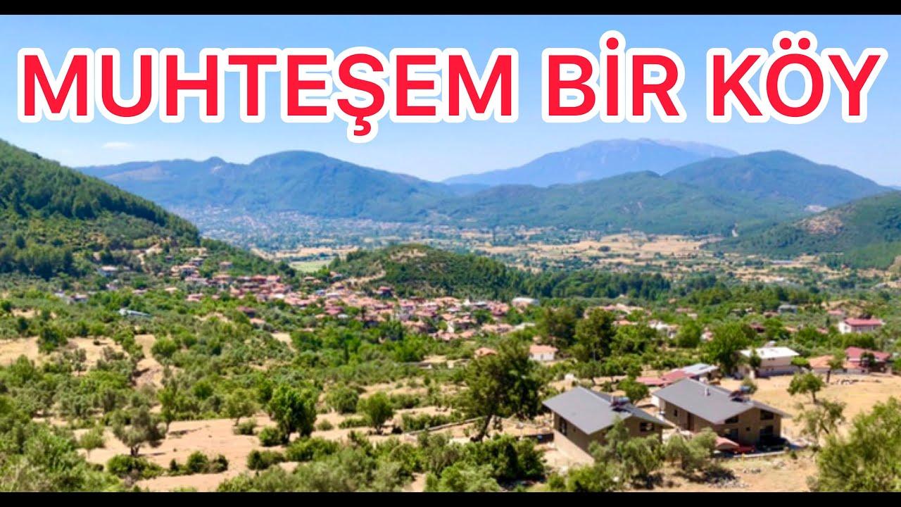 Köyde Ev Yapmak Arazi Almak Köyde Yaşamak İsteyenler İçin Muhteşem ve Ucuz  Bir Köy Tanıtıyorum
