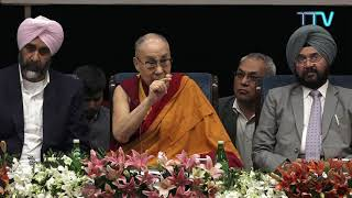 His Holiness the Dalai Lama's talk on 'Oneness' at the 'Ik Noor Interfaith Conclave