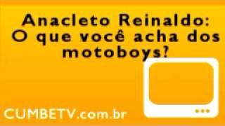 Anacleto Reinaldo sobre os motoboys