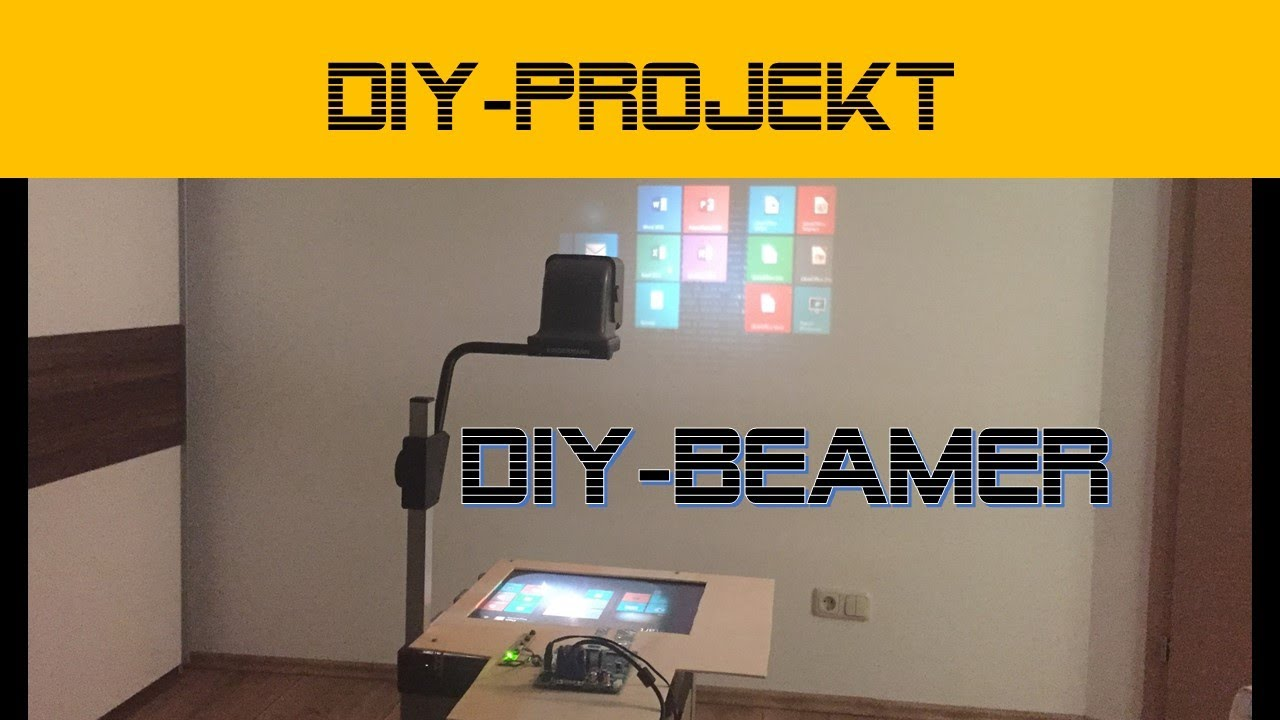 Top DIY Beamer aus LCD und Overhead | danprogramming - YouTube XH61