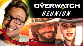 """Reunion"" | Overwatch Animated Short REACTION! | I SHIP THEM SO HARD! |"
