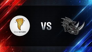Brain Storm vs Nashorn - day 4 week 5 Season I Gold Series WGL RU 2016/17