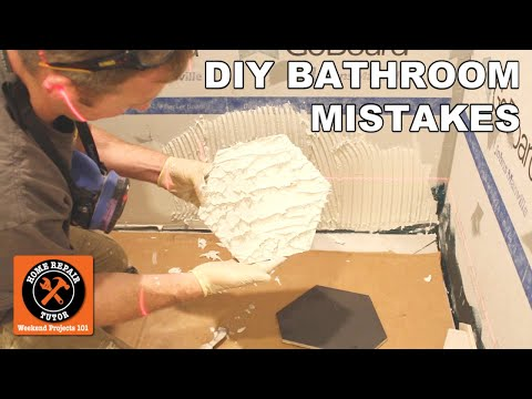 DIY Bathroom Remodeling Mistakes | 7 Quick Tips for Homeowners