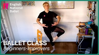 Beginners/Improvers Ballet Class: #1 | English National Ballet
