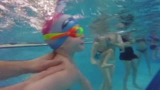 Детская тренировка по плаванию. Дети 1-3 года. Группа 2. SportMax Донецк