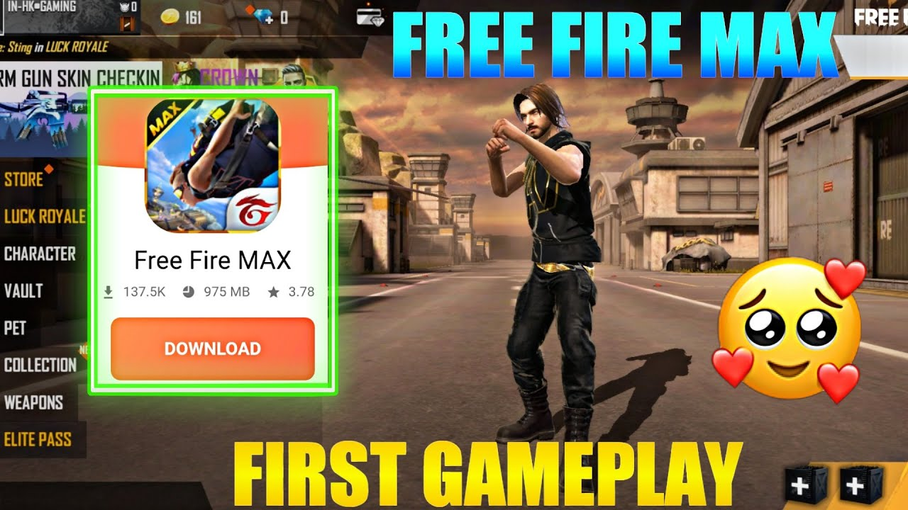 Free Fire Max First Gameplay Free Fire Max Apk Download How To Download Free Fire Max Apk Youtube