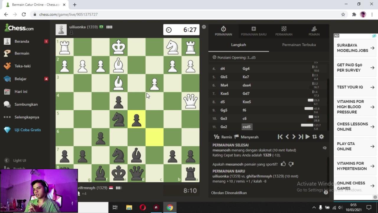 Lanjut Catur - Chess Indonesia