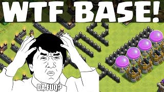 WTF BASE! || CLASH OF CLANS || Let's Play Clash of Clans [Deutsch/German HD]