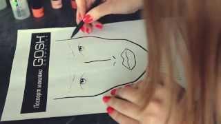 Мастер-класс №24 - Как сделать идеальные брови - макияж видео #GOSH(Как сделать красивые брови Официальный визажист GOSH Cosmetics Ирина Кудревич расскажет, как можно сделать идеал..., 2014-07-21T18:21:21.000Z)
