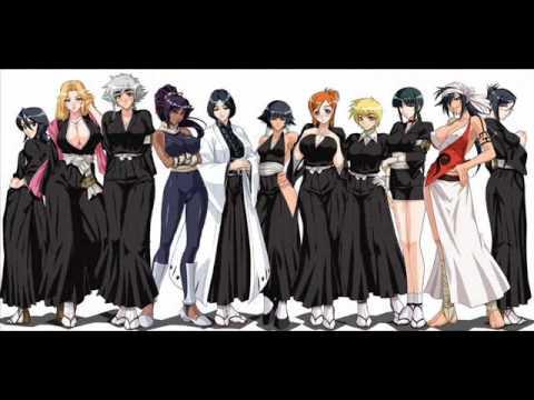 Bleach Captains And Espada