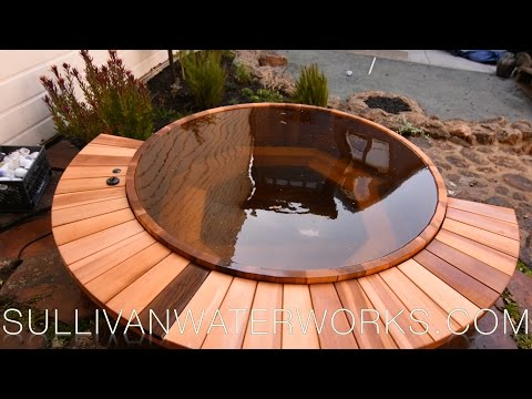 Western Red Cedar Hot Tub Construction