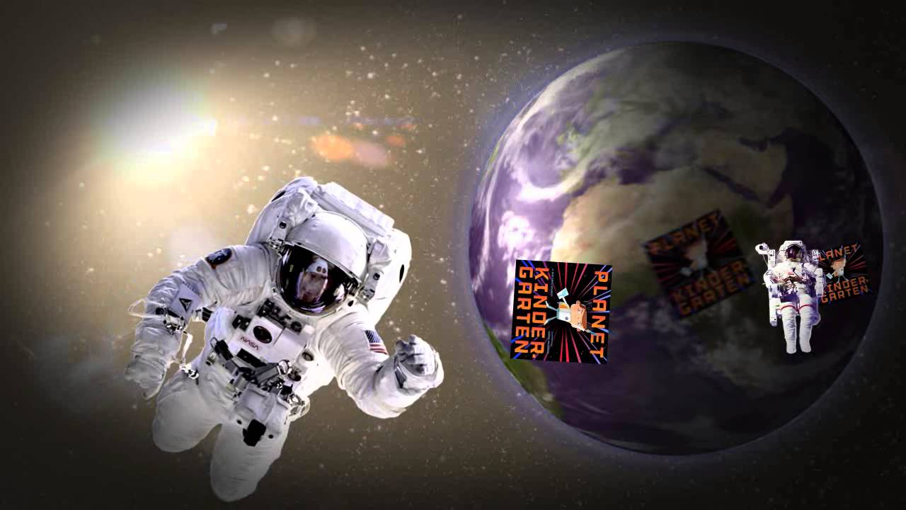 an astronaut floating in space - photo #41