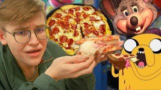 Chuck E Cheese Pizza Karikatür Meydan! (Co-işçiler Baskı)