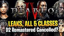 Diablo 4 Leaks, Paladin Amazon On Launch, D2 Remastered Cancelled? Diablo 4 Beta Release Window 2021