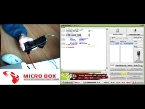 Samsung C3050 Read Unlock Codes with Micro-Box‬‏ - www.micro-box.com