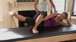 Sexy Pilates Workout Side Leg Series