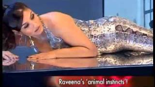 Repeat youtube video Raveena's sexy photo-shoot for PETA