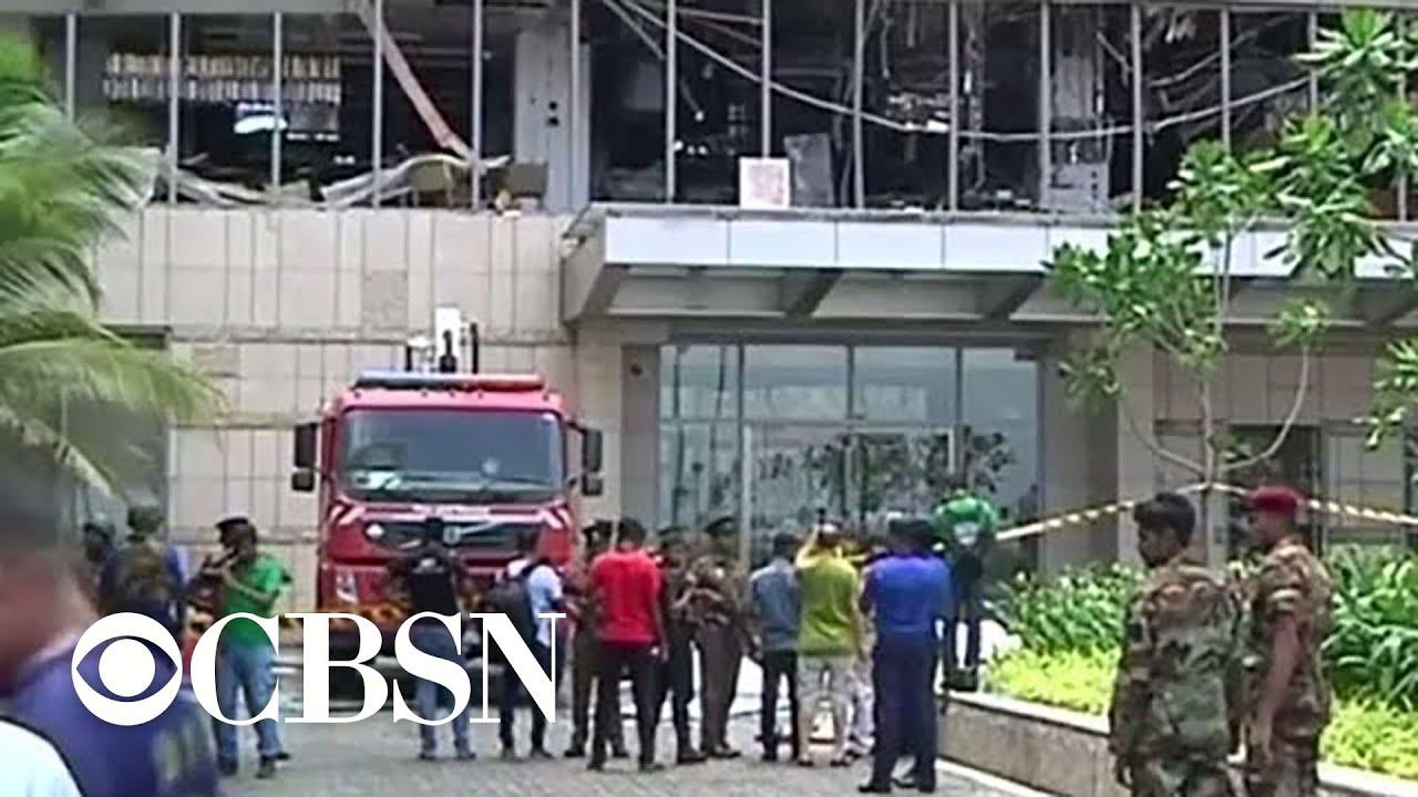 Explosions at churches, hotels kill dozens in Sri Lanka on Easter