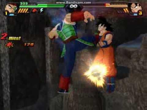 Dragon Ball Z Budokai Tenkaichi 3: Bardock vs Goku  