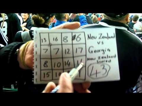 All Black Magic | Amazing Magic with the New Zealand Rugby score! | Patrick Aitchison