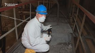Watch: Rare look inside Chernobyl power plant's radioactive ruins
