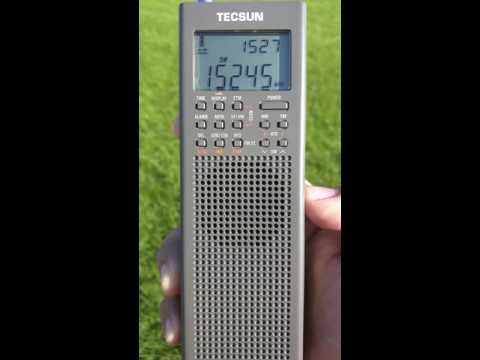 China Radio International English - 15245 KHZ - 15:27 UTC