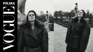 """Agata Kulesza w urodzinowym wydaniu """"Vogue Polska"""""""