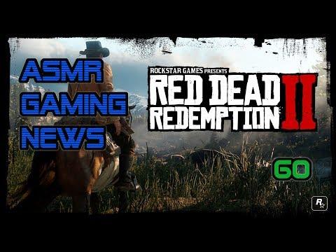 ASMR Gaming News (60) Red Dead Redemption 2, GTA V, NFS Payback, Monster Hunter, Pokemon + More!